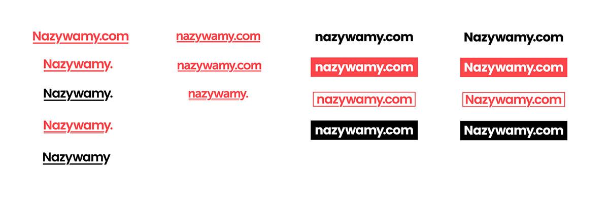 logo - odrzucone warianty