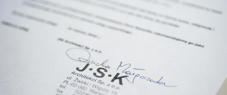 Referencje: JSK Architekci