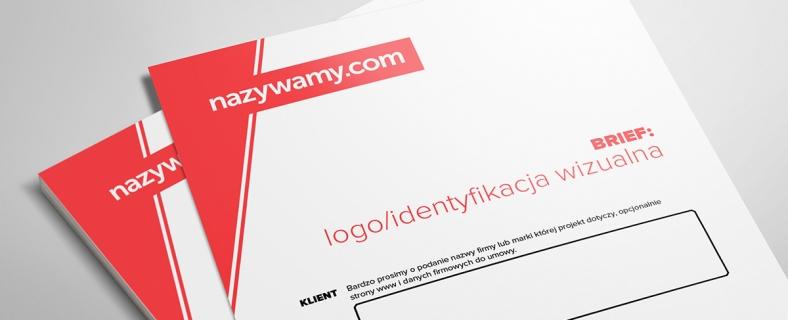 Brief na logo i/lub identyfikację wizualną