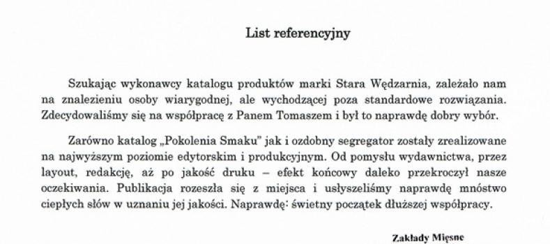 Naming, BTL – referencje Stara Wędzarnia