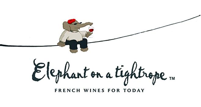 Słoń na linie (tańczy po winie)