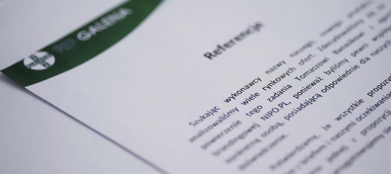 Referencje FSP Galena