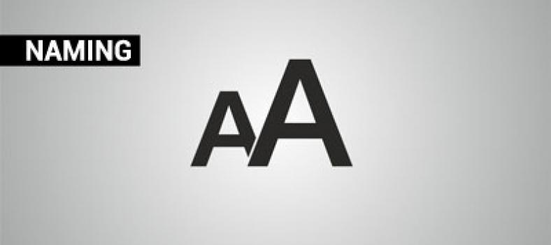 Naming cyfrą pisany
